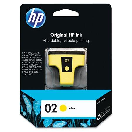 - HP 02, (C8773WN) Yellow Original Ink Cartridge