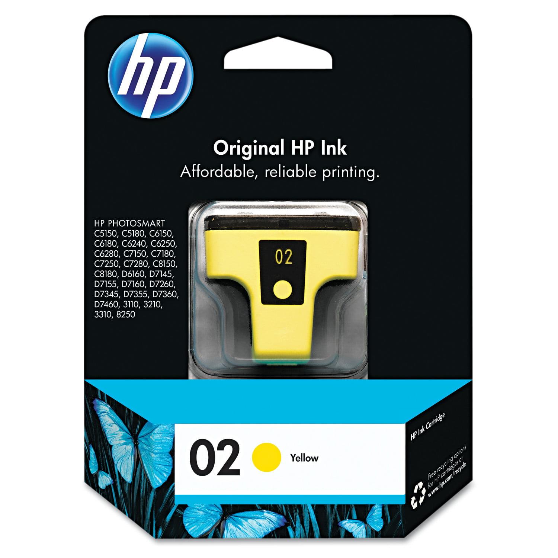 HP 02, (C8773WN) Yellow Original Ink Cartridge