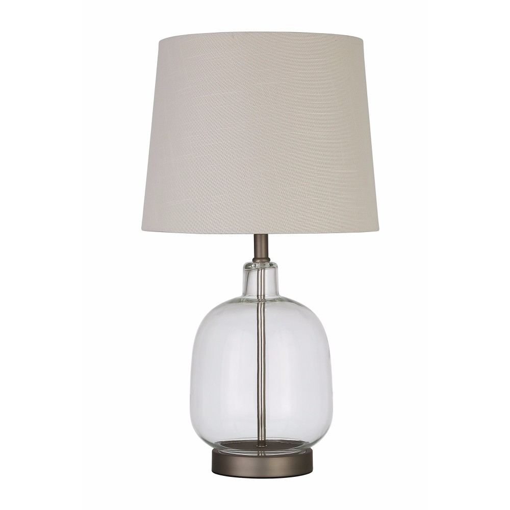 Coaster Table Lamp in Clear by COA INC