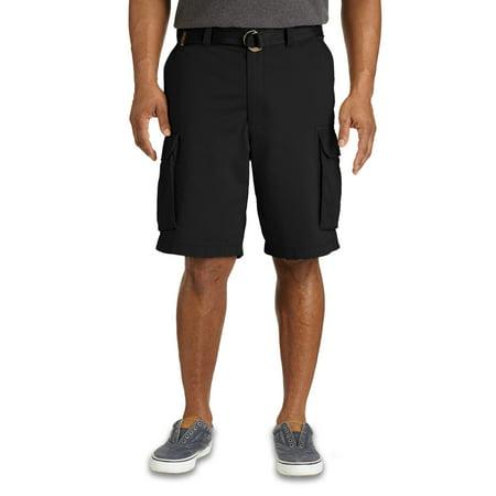 7b972955a8 true-nation - men's big & tall true nation broken-in twill cargo shorts -  Walmart.com
