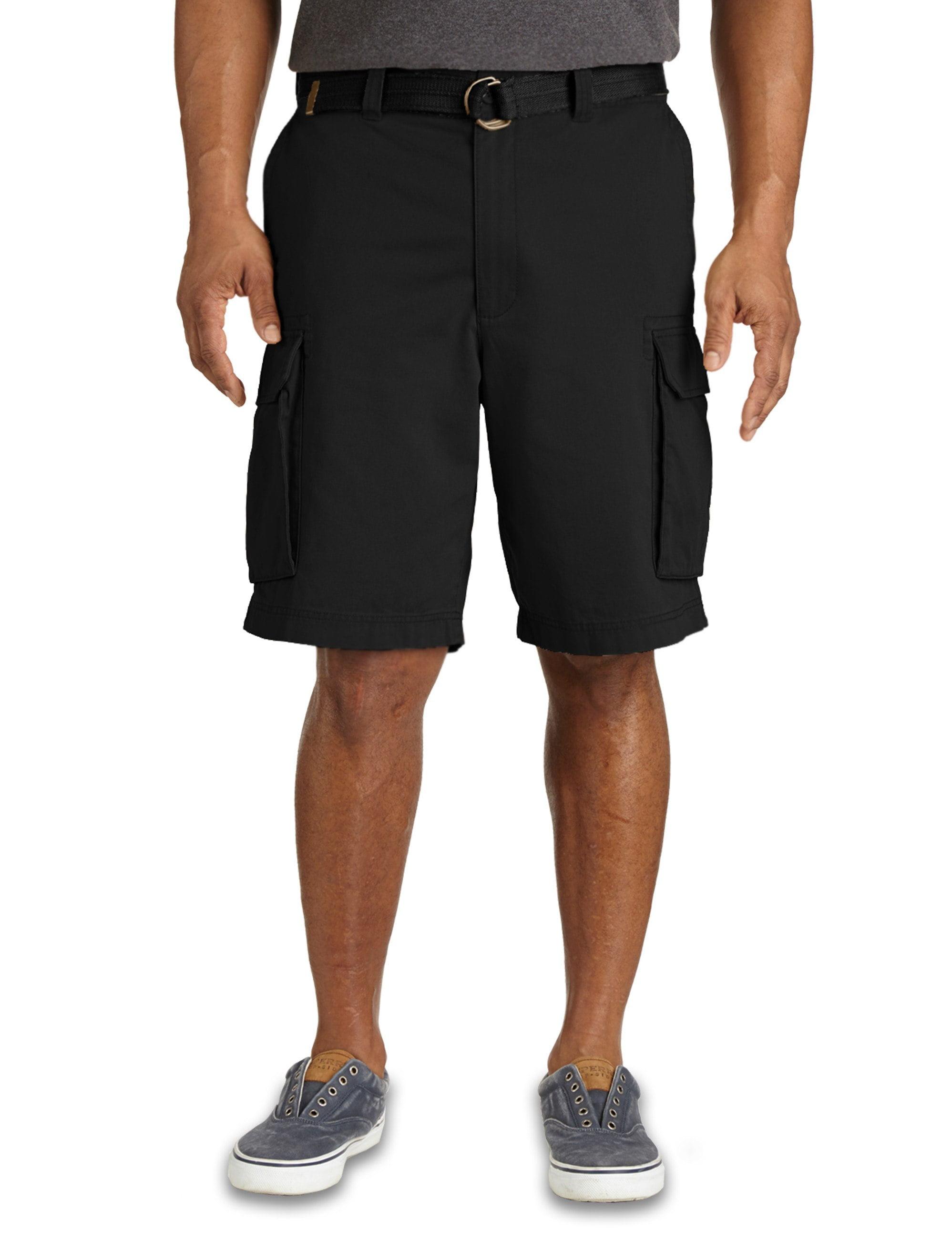 men's big & tall true nation broken-in twill cargo shorts