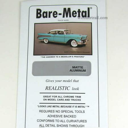 - Matte Aluminum Foil Thin Sheet (1) Bare-Metal Foil