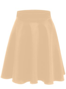 4412e734b1408 Product Image Simlu A Line Midi Skirt Flared and Pleated Midi Skirt for  Women - Made in USA. Product Variants Selector. Beige Black