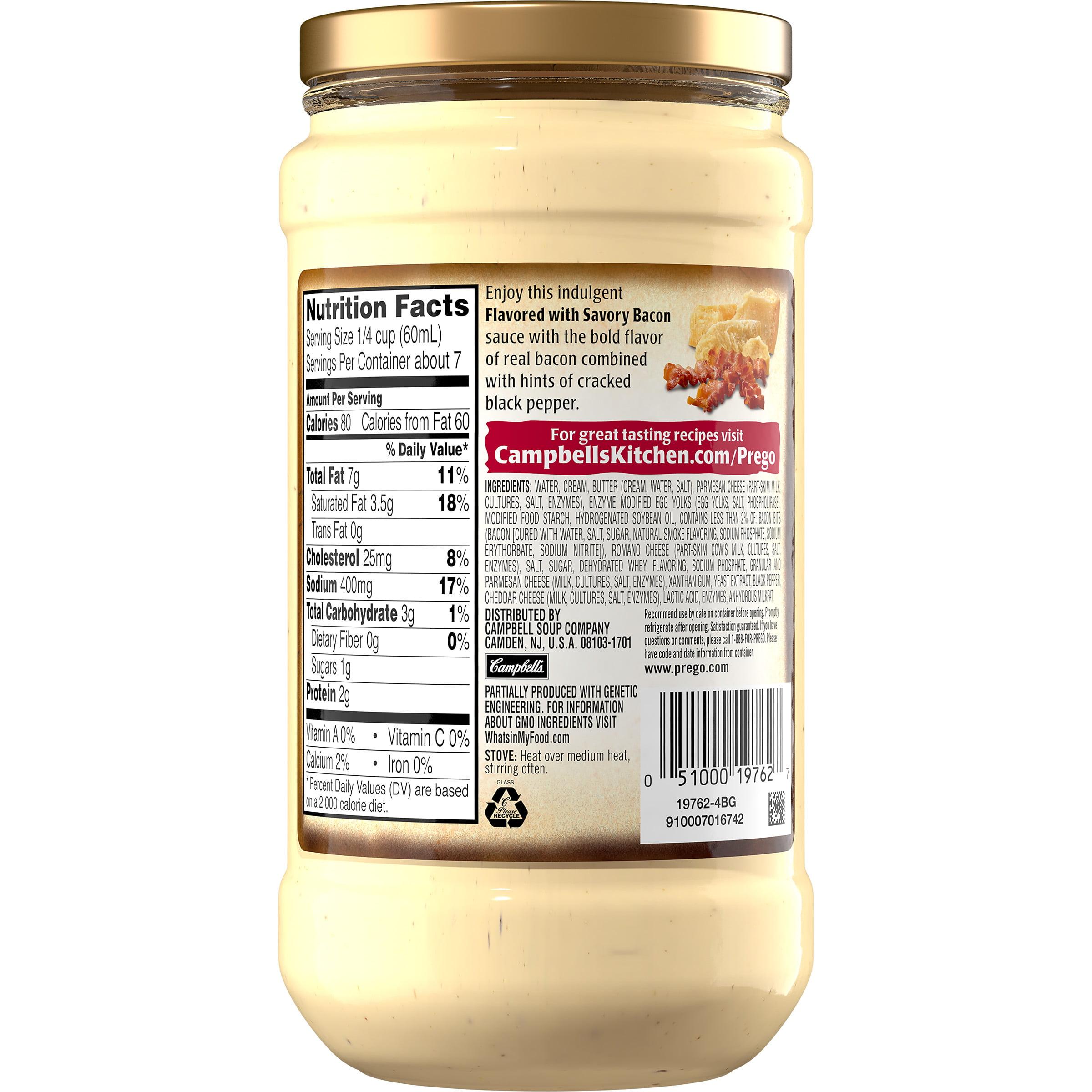 Savory Bacon Alfredo Sauce