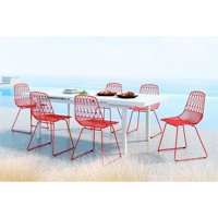 Brody Dining Chair Red (Set of 2)