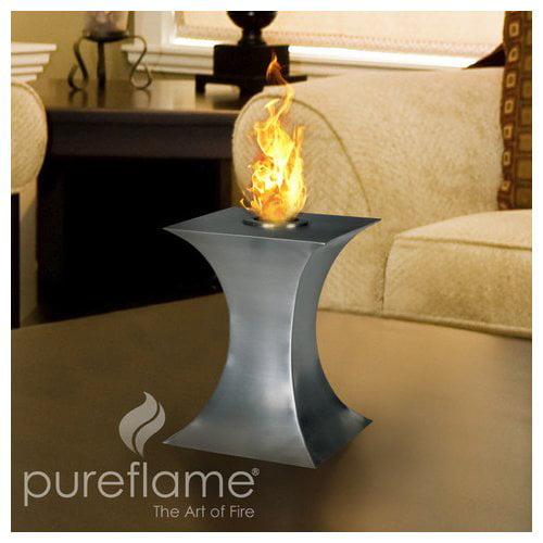 PureFlame Aquafires Concave Bio-Ethanol Tabletop Fireplace