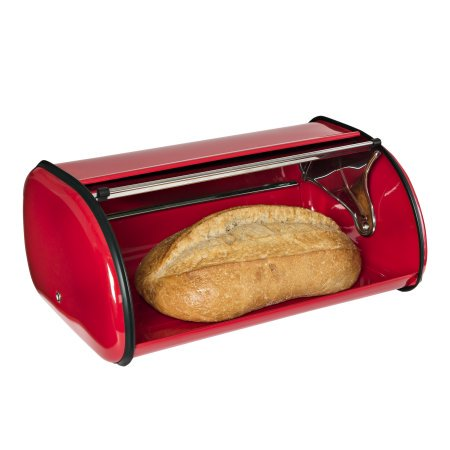 Bread Canister - Honey Can Do Retro Kitchen Bread Box and Canister Set Bundle