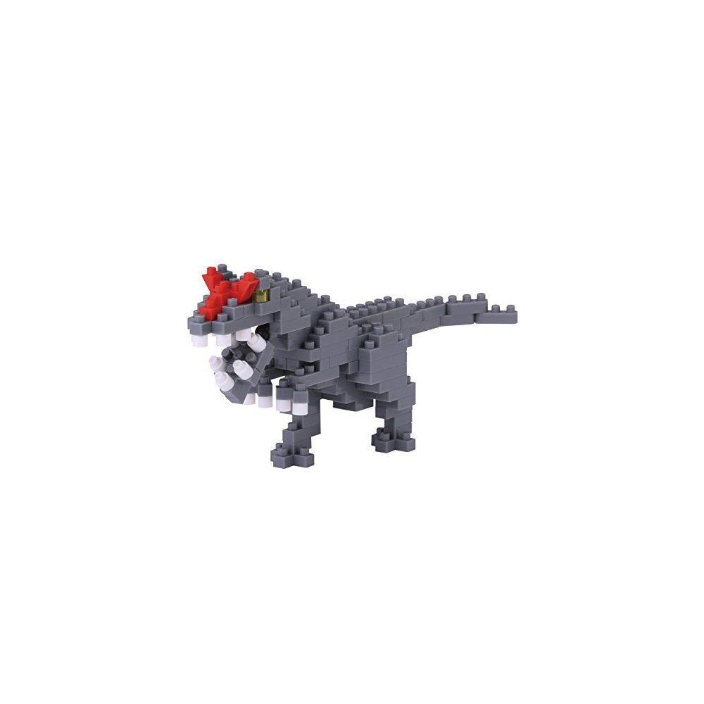 Kawada Micro-sized building block Nanoblock -NBC-184 Dinosaur Allosaurus Building Kit, 120... by nanoblock