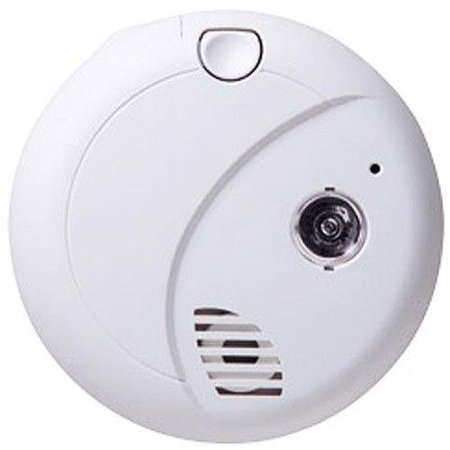 Dvr Hidden Video - First Alert Smoke Detector (Decoy) Hidden Spy Camera Battery Powered w/ DVR & 30-Day Standby Battery - HD Video Quality Hidden Recording - No Wires - Up to 32 GB Capacity - Self-Powered Spy Camera