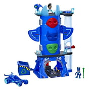 PJ Masks Deluxe Battle HQ Preschool Toy, Playset with 2 Action Figures, Play Vehicle for Ages 3 and Up