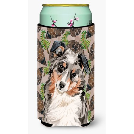 Australian Shepherd Pine Cones Tall Boy Beverage Insulator Hugger BB9572TBC](Buy Pine Cones)