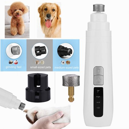 Herchr Dog Nail Clipper Pet Claw Trimmer Electric Pet