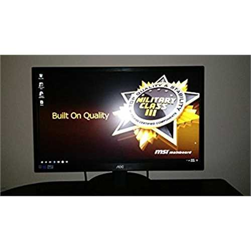 Refurbished AOC 24 Class LED LCD Monitor E2470SWD