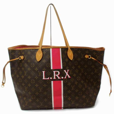 Louis Vuitton Monogram Neverfull GM Mon Stripe Red Tote Large 860623