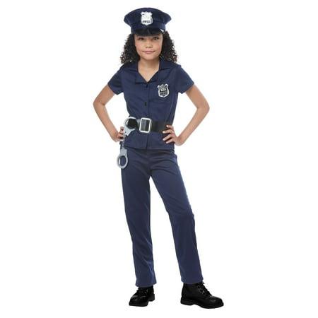 Girls Cute Cop Costume