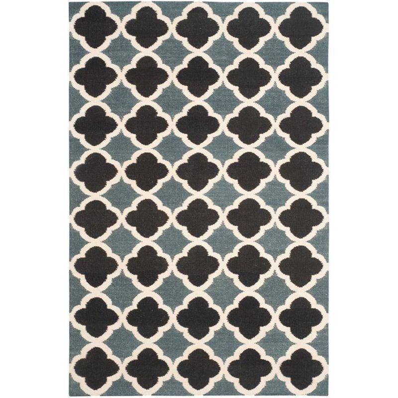 Safavieh Dhurries 4' X 6' Hand Woven Flat Weave Wool Rug - image 3 of 8