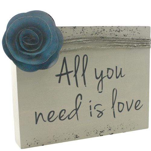 Fetco Home Decor Garison All You Need Is Love Wall D cor