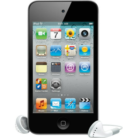 Mp4 Files Ipod (Refurbished Apple iPod Touch 4th Gen 16GB WiFi MP3 MP4 Digital Music Video Player ME178LL/A)