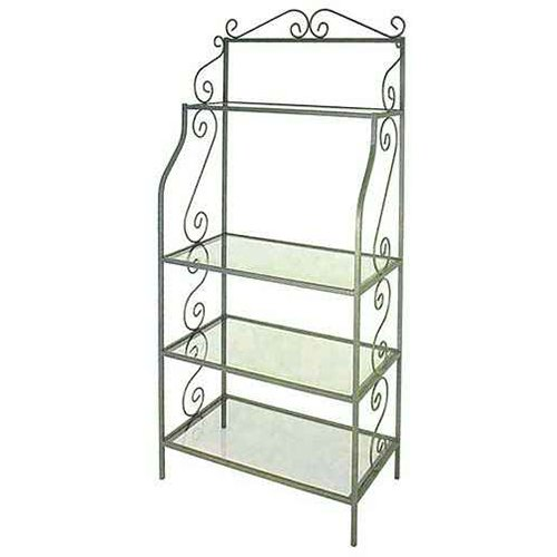 Grace Manufacturing Graduated Bakers Rack with 4 Shelves