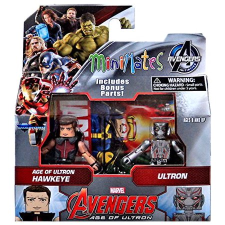 Marvel Avengers Age of Ultron Hawkeye and Ultron Minimates Action Figures 2 - Ultron Avengers 2