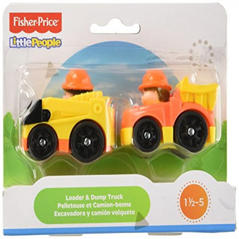 Fisher Price Little People Wheelies 2-Pack - Loader/Dump ...