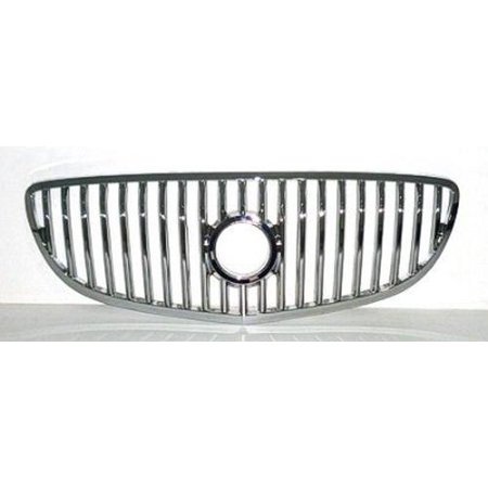 Chrome Grill Assembly for 2008-2009 Buick Allure, LaCrosse Grille GM1200618