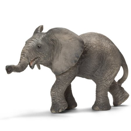Schleich African Elephant Calf Animal Figurine