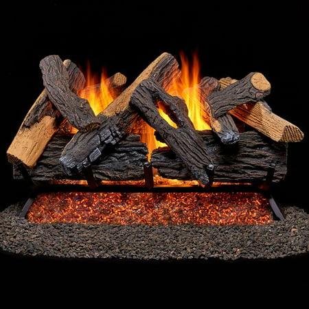 Vented Natural Gas Fireplace Log Set (Gas Log Fireplace Won T Stay Lit)