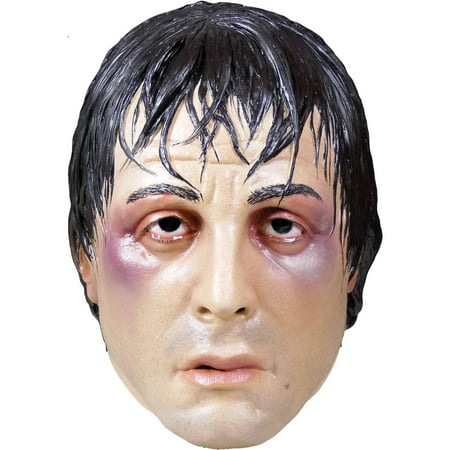 Rocky Balboa Mask Adult Halloween Accessory - This Is Halloween Version Rock