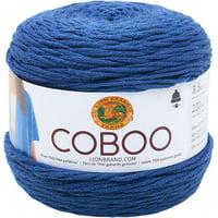 Lion Brand Steel Blue Coboo Yarn