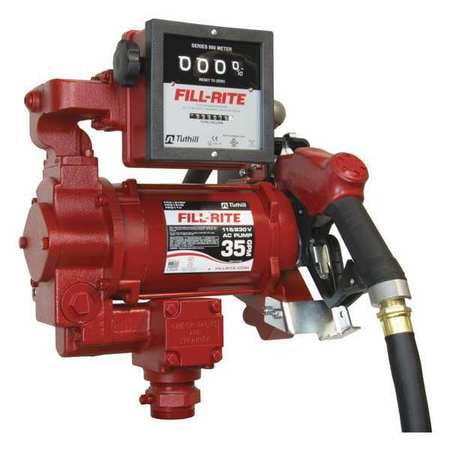 Fill-Rite FR311VLB Fuel Transfer Pump,3/4 HP,1in. Hose di...