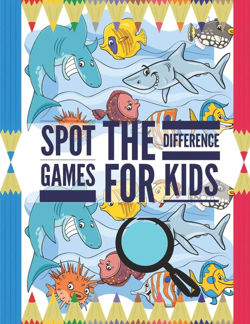 Spot the Difference Games for Kids : Find the difference ...