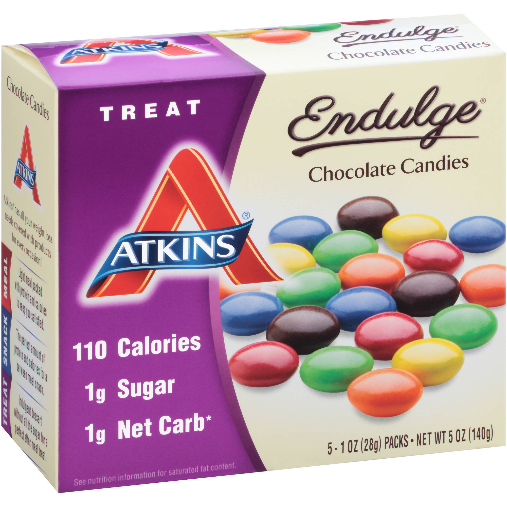 Atkins Endulge Chocolate Candies, 1 oz, 5 count