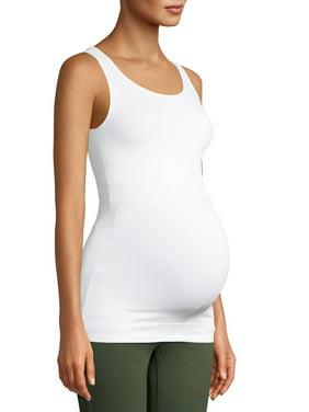 Maternity Time and Tru Basic Sleeveless Tank (Prenatal)