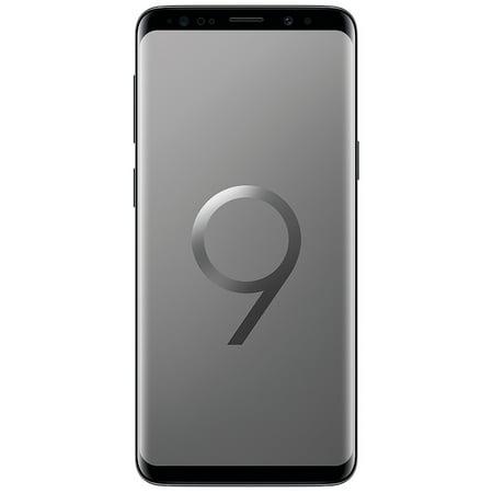 Samsung Galaxy S9 G9600 64GB Unlocked GSM 4G LTE Phone w/ 12MP Camera - Titanium Gray (Certified Refurbished)