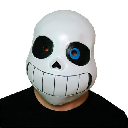 Sans Mask Undertale Game Skeleton Cosplay Costume Papyrus Anime Prop Overhead - Skeleton Cosplay