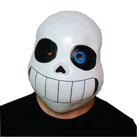 Sans Mask Undertale Game Skeleton Cosplay Costume Papyrus Anime Prop Overhead