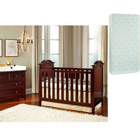 Imagio Baby Summit Park Cottage Panel Crib, Chocolate Mist with Bonus Mattress