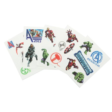 Marvel Avengers Pack of 25 Temporary - Avengers Tattoo