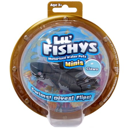 Lil' Fishys Minis Claws Motorized Water Pet
