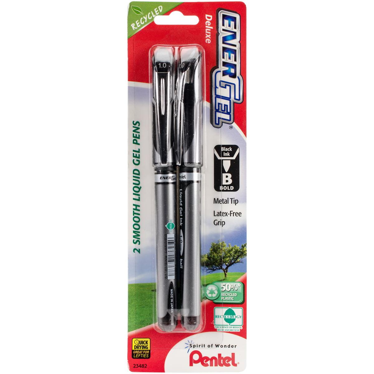 Pentel 1.0 mm Gel Pen in Black (Set of 6)