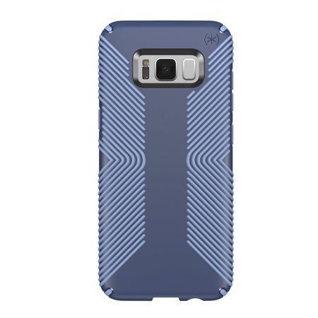 Speck Presidio Grip Case for Samsung Galaxy S8 Plus - Marine Blue/Twilight Blue ()