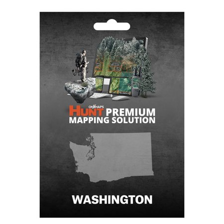Onxmaps Hunt Washington   Gps Map With Hunting Land Owner Data For Garmin  Microsd Sd Card   Smartphone    Computer