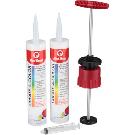 Red Devil 4074 Create-A-Color Custom Color Caulk (Red Devil Create A Color Caulk Mixing System)