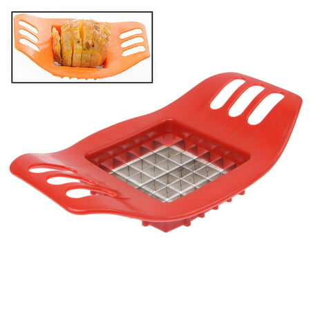 - Potatoes Maker French Fries Maker Ptatoes slicer, Ultra-practical Easy Potatoes Cut Strips Tools French Fries with Stainless Steel Cutter (Random Color)