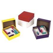 HEATHROW SCIENTIFIC HS2860C Box, Cardboard, 50mm, Assorted, PK12