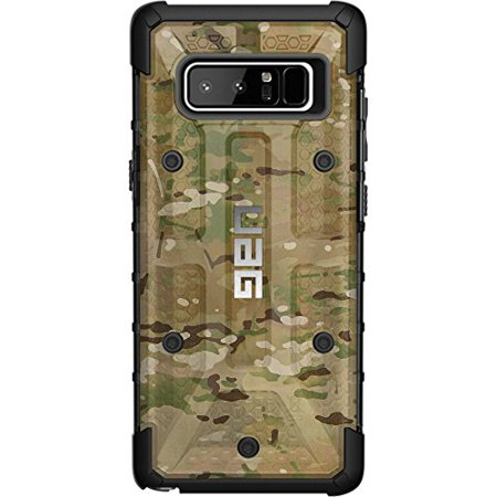 LIMITED EDITION- Customized Designs by Ego Tactical over a UAG- Urban Armor Gear Case for Samsung Galaxy Note 8 - Multicam/Scorpion Camouflage (Gear Note)