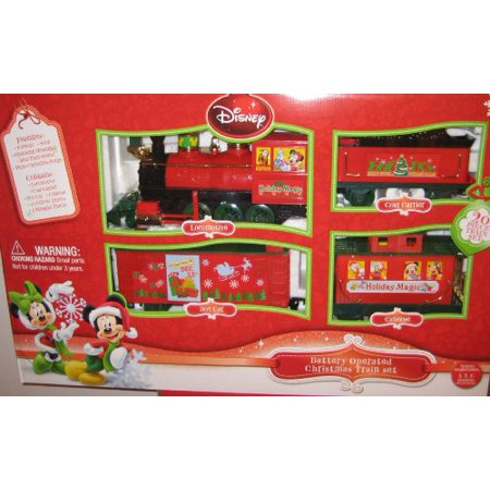 disney battery operated christmas train set - Disney Christmas Train