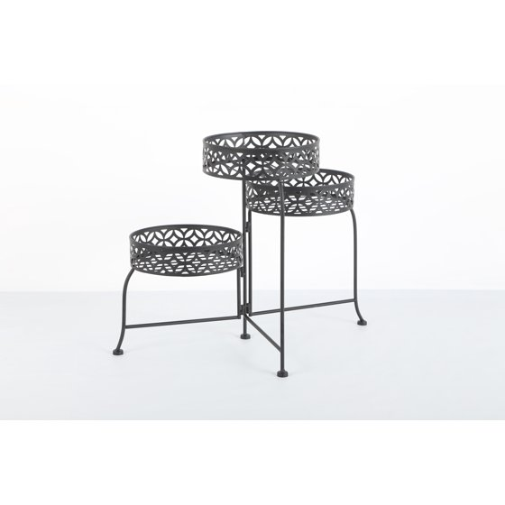 Better Homes and Gardens 3 Tier Outdoor Lattice Plant Stand ...