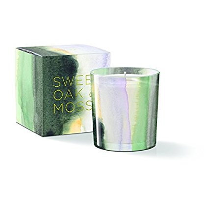 Water Study sunrise Round May Candle, Sweet Oak & Moss Scent, 20+ Hours Burn Time (Oaks Mall Hours)